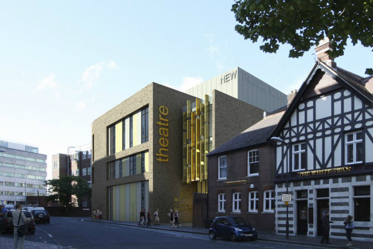 New theatre royal building portsmouth university uk for Royal exteriors